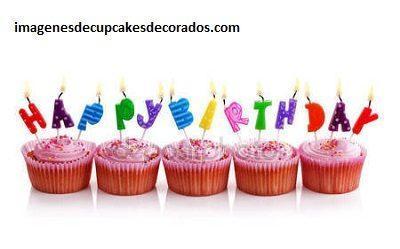 imagenes de cupcakes de cumpleaños regalo