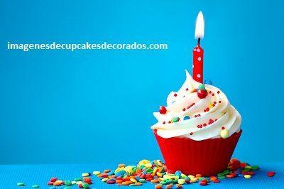imagenes de cupcakes de cumpleaños decorados