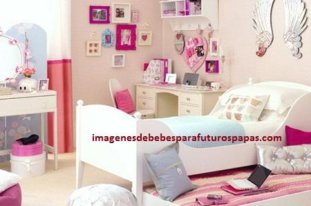 Bonitas ideas de decoracion de dormitorio de ni a de 10 for Decoracion de cuartos para ninas de 10 anos