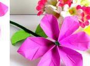 Tutorial fácil para hacer hermosas flores papel minutos