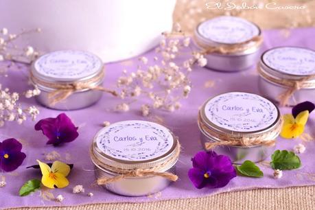 Detalles con aroma a lavanda velas personalizadas para bodas paperblog - Aromas para velas ...