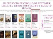 Oferta romántica nuevos socios Círculo Lectores