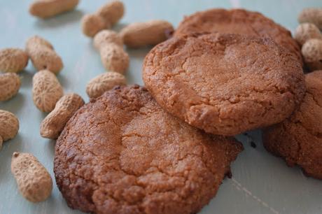Galletas de Mantequilla de Cacahuete Casera