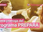 Nueva prorroga Programa Prepara