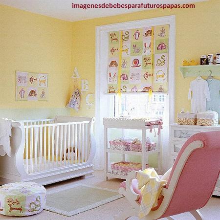 decoracion de cuartos para bebes mujeres modernas
