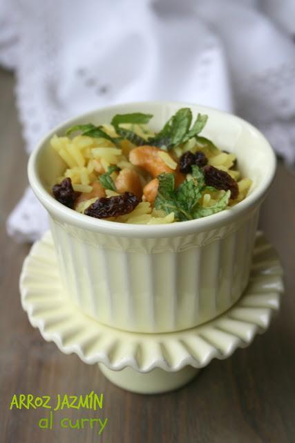Arroz jazm n al curry para guarnici n paperblog for Arroz blanco cocina al natural