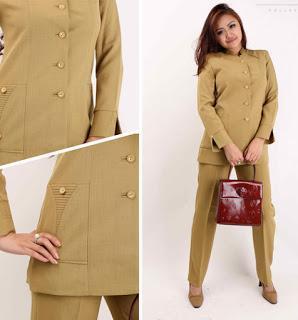 Model Baju Dinas PNS Wanita Modern