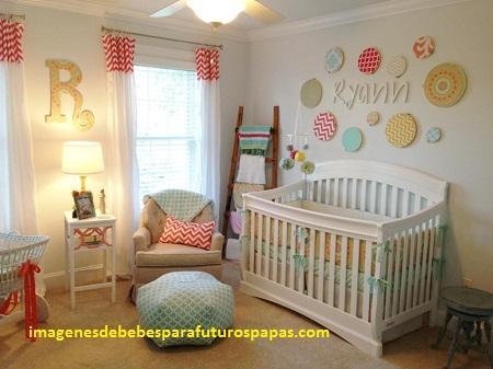 ideas para decorar de bebes dormitorios