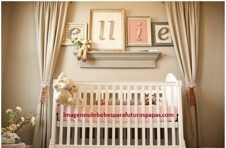 4 Infantiles ideas para decorar el cuarto de una bebe niña ...