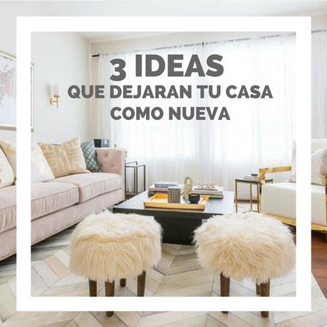 Las 3 mejores ideas para renovar tu casa y no morir en el for Renovar casa