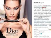 Bella Hadid belleza cautivadora para Dior