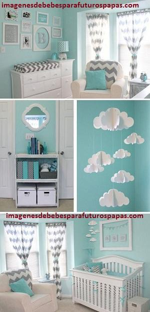 Ideas para decorar cuarto de bebe varon con adornos de niños ...