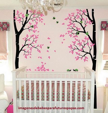 adornos para dormitorios de bebes mujeres