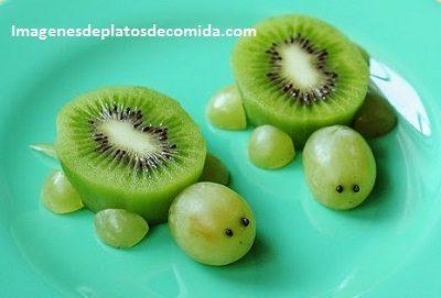 comida con frutas para niños faciles