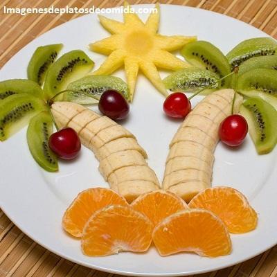 comida con frutas para niños rapidas
