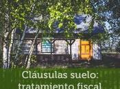 Cláusulas suelo: tratamiento fiscal