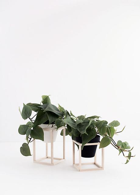 Diy maceteros de madera natural paperblog - Maceteros madera ikea ...