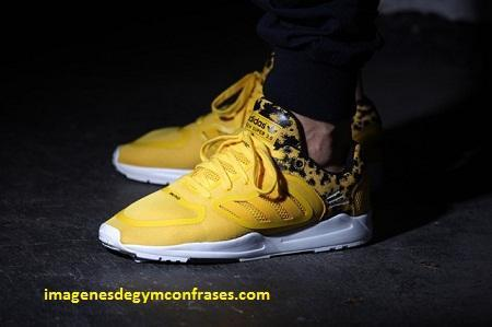 adidas hombres zapatillas amarillas