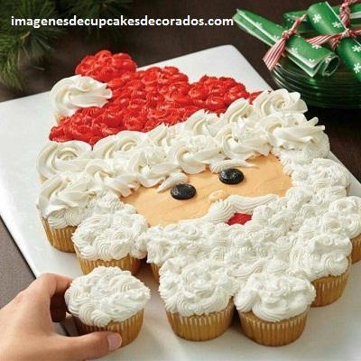 imagenes de cupcakes navideños figuras