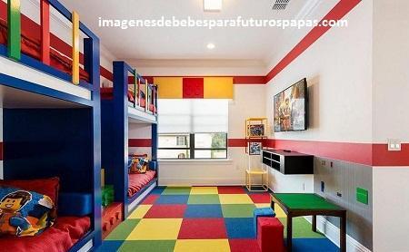 Decoracion para cuartos infantiles de nias y nios varones Paperblog