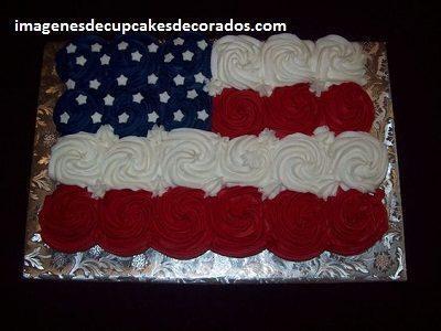 pasteles hechos con cupcakes torta