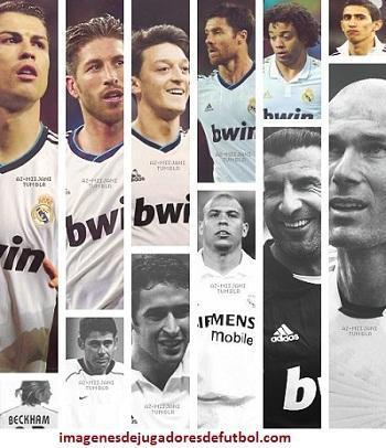 imagenes de todos los jugadores del real madrid futbolistas