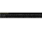 Cómo exportar mensaje cola correos Exchange EML?