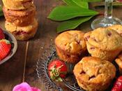 Muffins fresas chocolate blanco