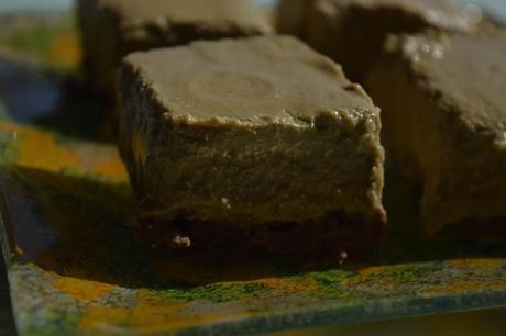 Cheesecake de Té Matcha Sin Gluten