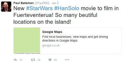 STAR WARS se rodará en ESPAÑA.