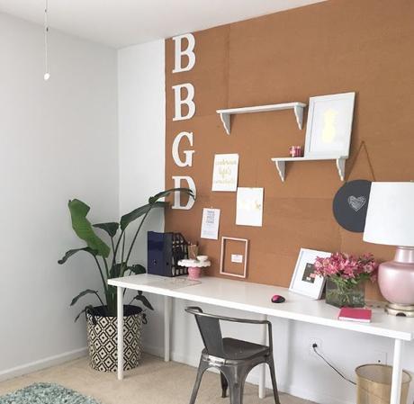 Deco paredes de pizarra para oficinas en casa paperblog for Pizarra oficina