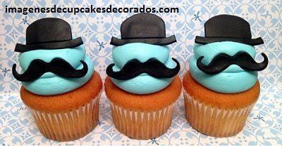 cupcakes cumpleaños para hombre imagenes