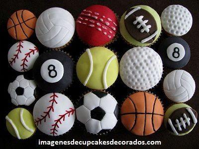cupcakes cumpleaños para hombre decorados