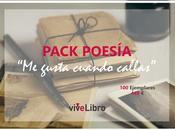 Celebra Poesía publicando poemas nuestro Pack