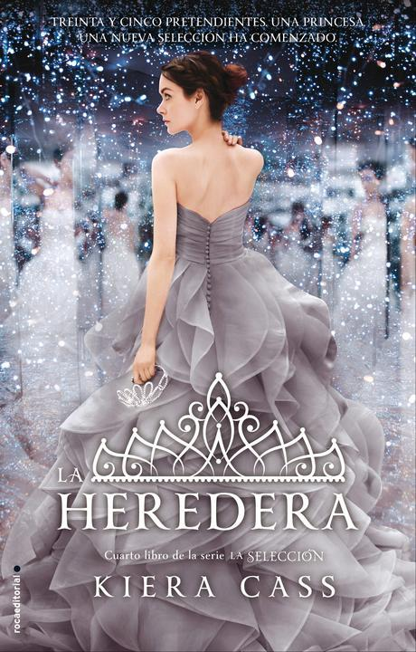Image result for LA HEREDERA, DE KIERA CASS