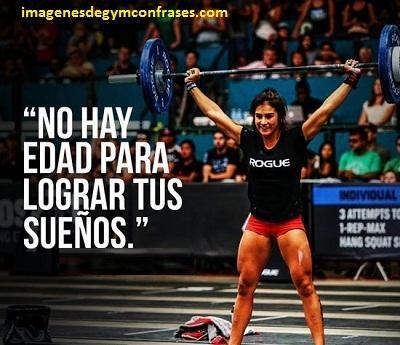 Deportivas Frases De Motivacion Para El Gimnasio De Mujeres