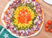 Pizza Arcoiris