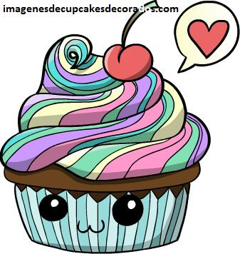 cupcakes animados originales imagenes