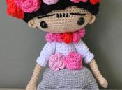Frida kahlo ganchillo