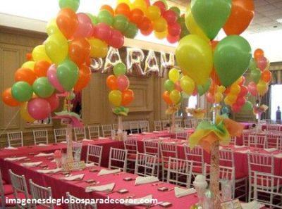 como decorar globos para cumpleaos decoracion