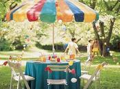 Ideas para decoración fiestas aire libre