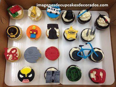 cupcakes decorados para hombres imagenes