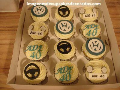 cupcakes decorados para hombres cumpleaños