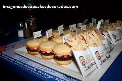 cupcakes decorados para hombres originales