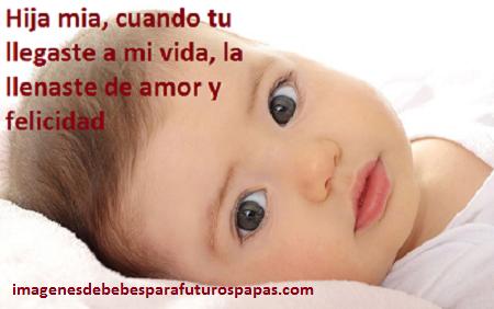 Amor En 4 Bonitas Frases Para Mi Bebita Hermosa De 5 Meses Paperblog