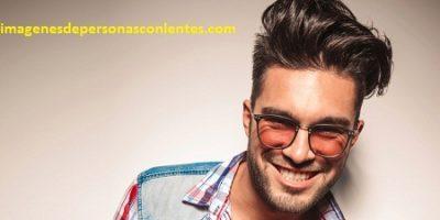 cortes de pelo para hombres con anteojos moda