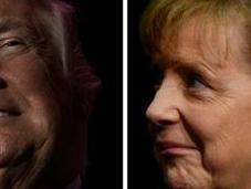avecina primer cara entre Merkel Trump