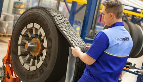 ¿Qué se hace con los neumáticos fuera de uso?