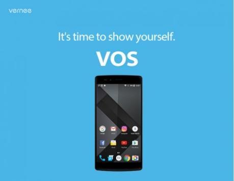 Teléfono Vernee Apolo X será el primero en ser alimentado con VOS