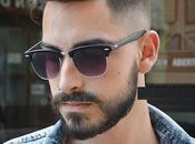 Estilos cortes cabello para hombres gafas moda
